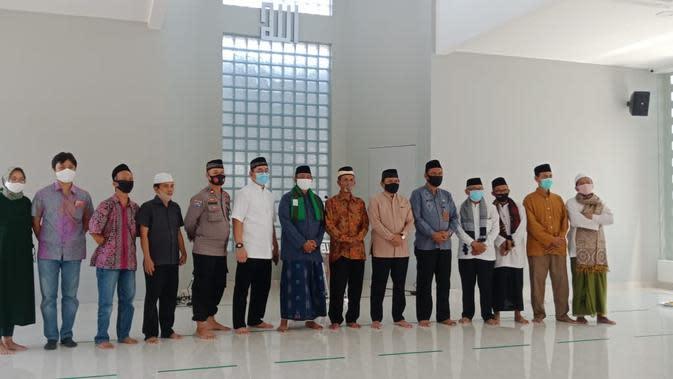 Masjid Al-Ihsan di Kompleks Daan Mogot diresmikan Direktur SCM Imam Sudjarwo, Jumat (28/8/2020) siang (Istimewa)