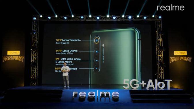 Realme X50 Pro 5G Resmi Diumumkan, Harganya?