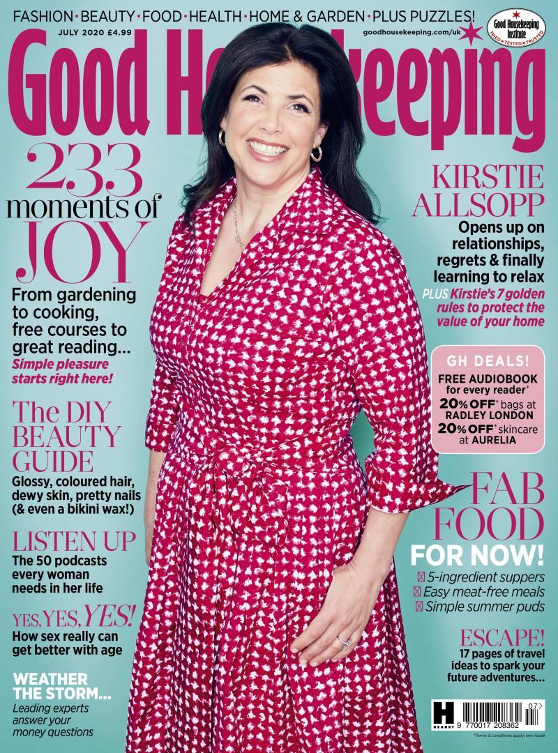 The July issue of Good Housekeeping. (David Venni/Good Housekeeping)