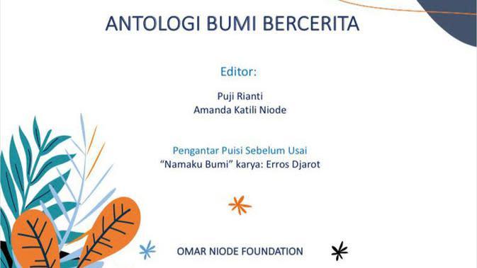 Buku Digital Antologi Bumi Bercerita.