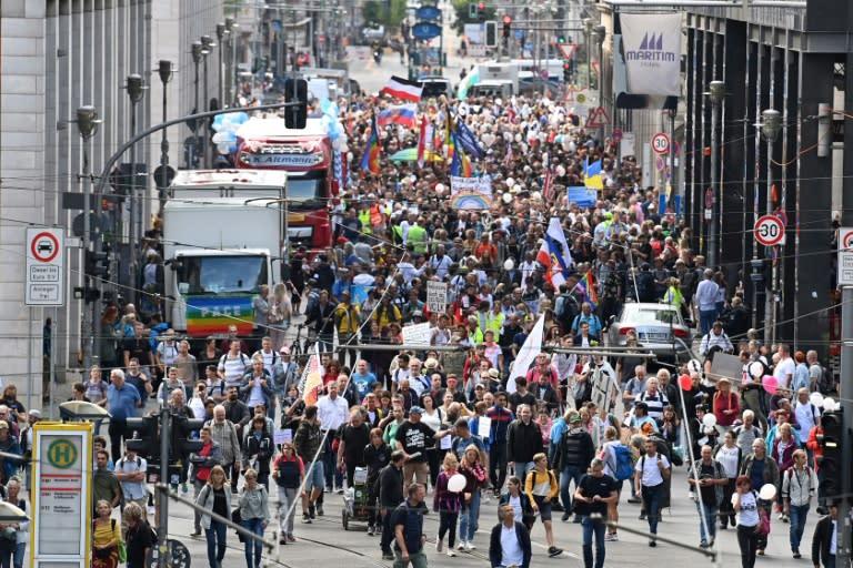 Berlin braces for 'anti-corona' demonstration