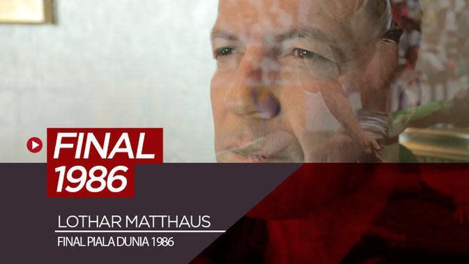 VIDEO: Kekaguman Lothar Matthaus Terhadap Mentalitas Timnas Jerman dan Maradona