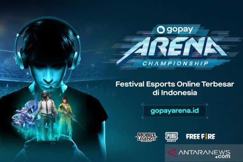 Sebanyak 30 ribu gamer siap tempur di GoPay Arena Championship