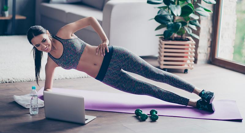 Whether you want to try out yoga or high-intensity training, here's all the equipment to help your at-home workouts. [Photo: Getty]
