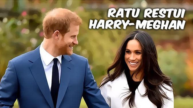 VIDEO Top 3: Ratu Elizabeth II Restui Keinginan Pangeran Harry