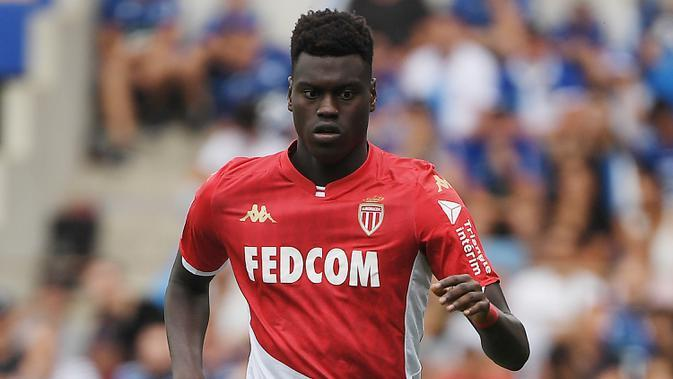 Benoit Badiashile (AS Monaco). (AFP/Frederick Florin)