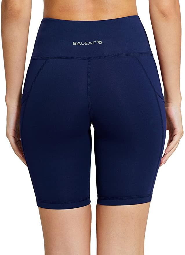 Baleaf Women's Yoga Workout Shorts. Image via Amazon.
