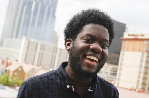 British soul singer Michael Kiwanuka appears at the SXSW Music Festival in Austin, Texas on Wednesday, March 14, 2012. (AP Photo/Jack Plunkett)