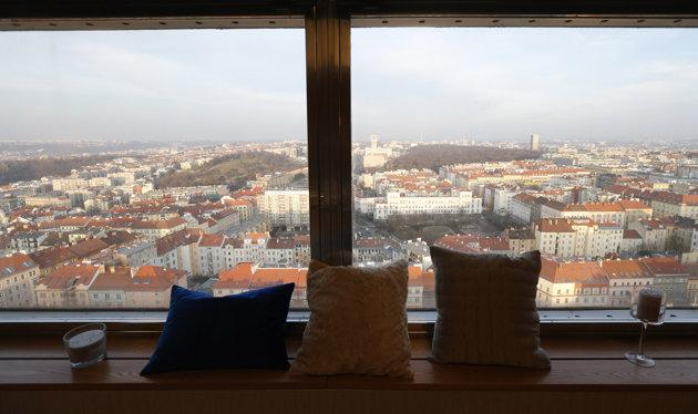 Ugly Prague tower adds beautiful view with hotel room