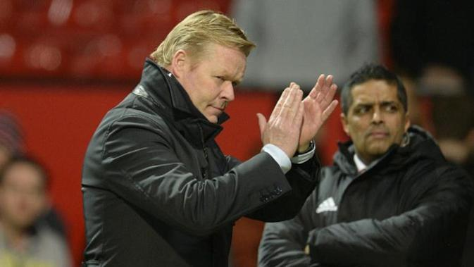 Manajer Southampton asal Belanda, Roland Koeman. (AFP/Oli Scarff)