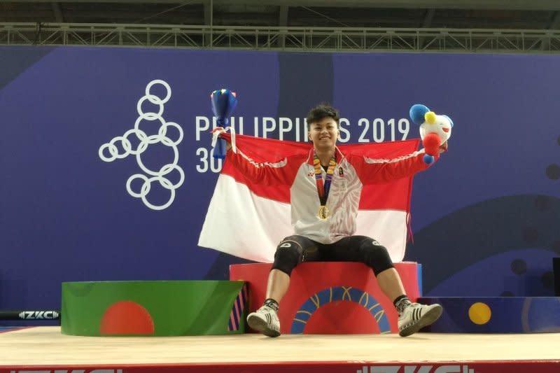 Raih emas, Rahmat Erwin jadi penutup manis angkat besi SEA Games 2019