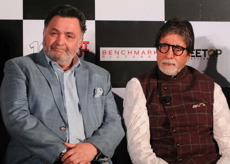 Kapoor (left) was born into a prolific dynasty which has produced four generations of actors