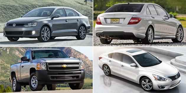 Top new car lease and finance deals for September 2012