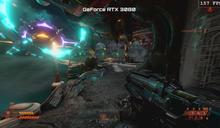 NVIDIA 放出 GeForce RTX 3080 跑《毀滅戰士:永恆》的片段