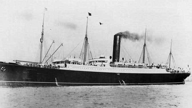 RMS Carpathia, penyelamat korban tragedi Titanic (Wikipedia)