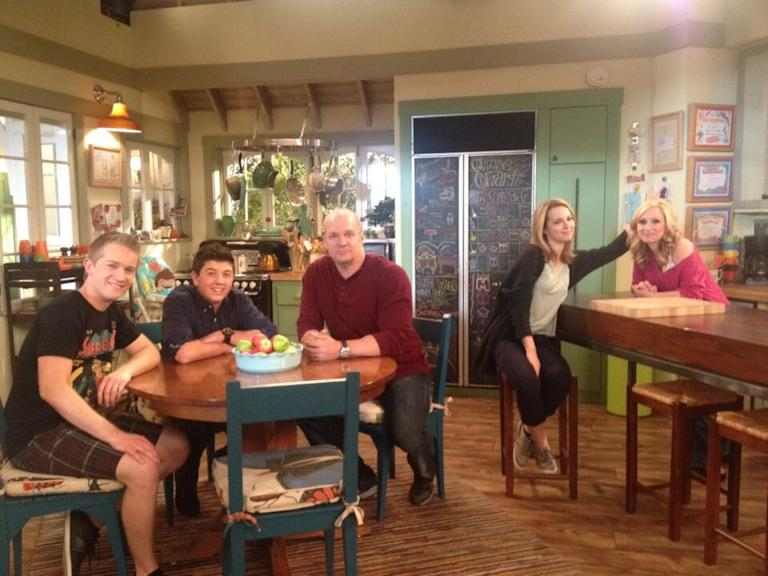 Did some promos and had one last time on the set of GLC with my amazing family!