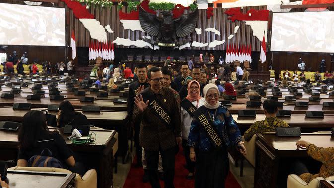 Ada 1.100 Undangan Disebar MPR untuk Pelantikan Jokowi-Ma'ruf Hari Ini