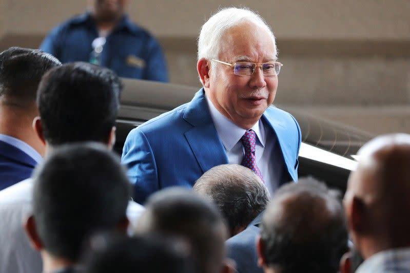 Mantan PM Malaysia Najib ikuti persidangan terkait skandal 1MDB
