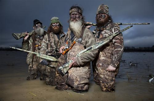 Duck Dynasty cast shot