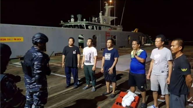 VIVA Militer: Guskamla I Tangani Kasus Perompak Kapal MTWinposh Resolve