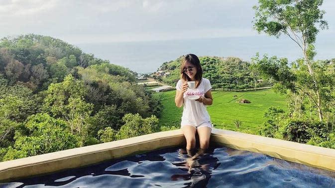 ilustrasi rekomendasi villa di Yogyakarta cocok untuk staycation bersama keluarga untuk menghilangkan penat/instagram: @radika_paradise
