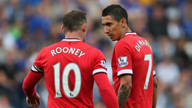 Wayne Rooney dan Angel di Maria (eurosport.com)