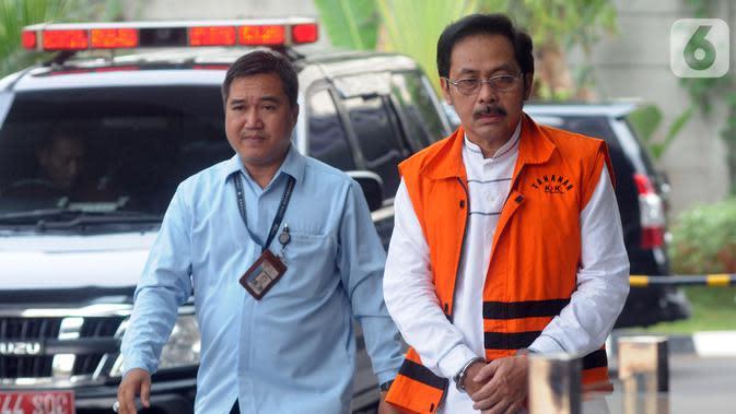 Diduga Terima Suap, Ini Dakwaan untuk Gubernur Kepri Nurdin Basirun