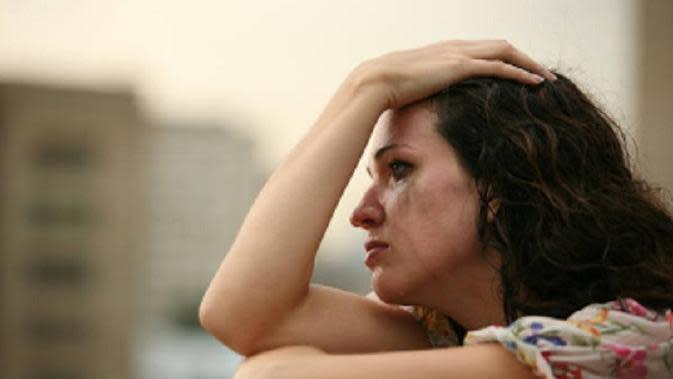 Ilustrasi menangis (iStock)