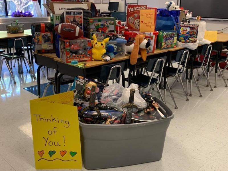 Secret toy drive   Philadelphia Elementary School