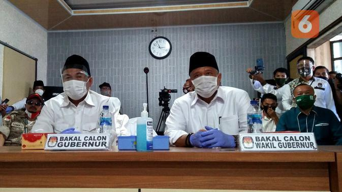 Diusung 3 Partai, Agusrin-Imron Mantap Daftar KPU Bengkulu