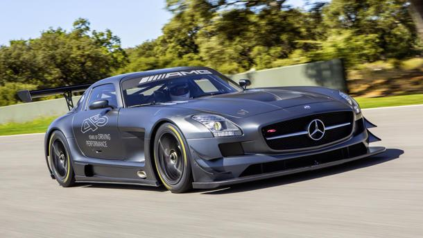 Mercedes builds $579,000 SLS AMG GT3 race car to mark 45th anniversary
