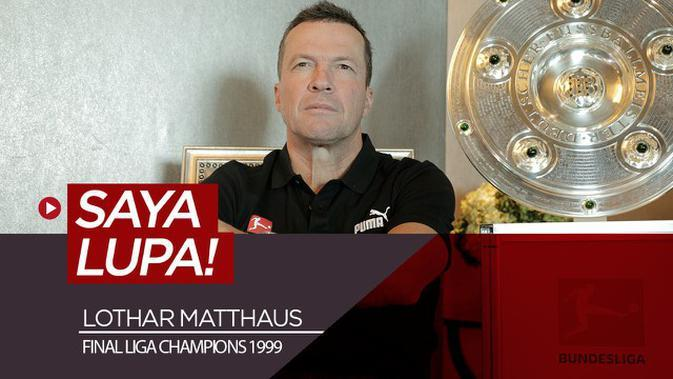 VIDEO: Lothar Matthaus Enggan Mengenang Drama Melawan Manchester United