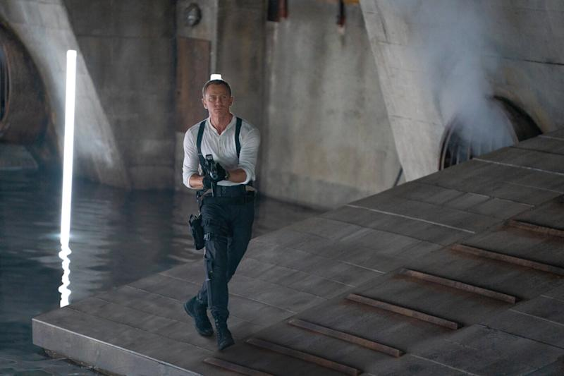 Daniel Craig in a still from 'No Time To Die'. (Credit: Eon/Universal)