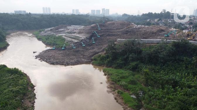 Pengerukan Longsoran Sampah TPA Cipeucang Serpong Tuntas Hari Ini