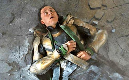 Tom Hiddleston as Loki in 'The Avengers' -- Marvel/Walt Disney Studios