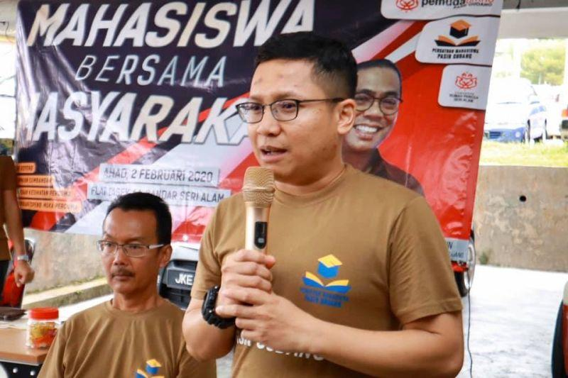 Pasir Gudang Umno representative Noor Azleen Ambrose said the division's intention was to push the aid out as over 8,000 in the constituency have applied. — Picture from Facebook