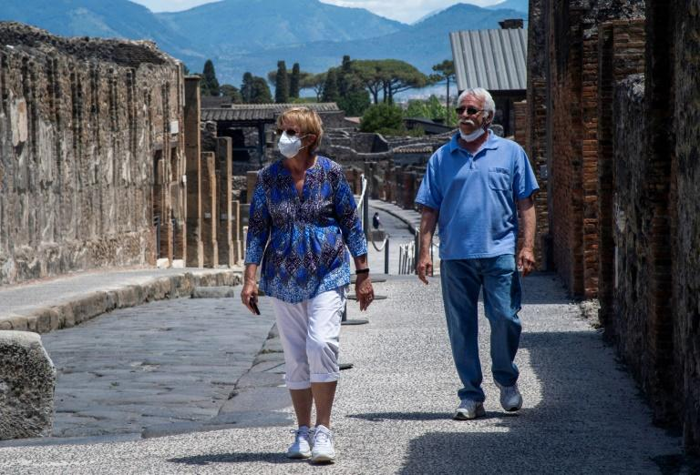 This American couple have waited in a Pompeii Airbnb for the entire length of Italy lockdown just to see the ancient site