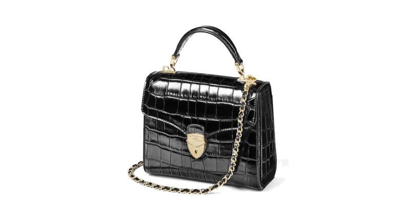 Midi Mayfair Bag in Black