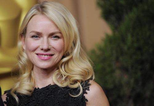 """Naomi Watts, nominated for best actress in a leading role for """"The Impossible,"""" arrives at the 85th Academy Awards Nominees Luncheon at the Beverly Hilton Hotel on Monday, Feb. 4, 2013, in Beverly Hills, Calif. (Photo by Chris Pizzello/Invision/AP)"""