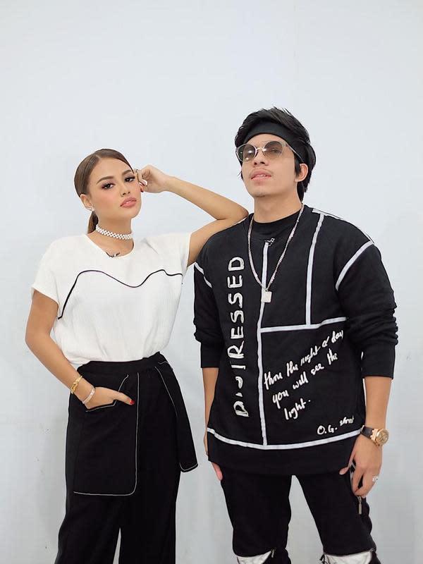 Atta Halilintar dan Aurel Hermansyah Tampil Kompak/dok. Erich Al Amin
