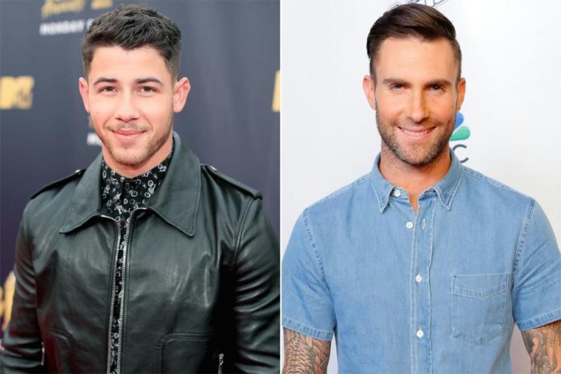Nick Jonas and Adam Levine | Christopher Polk/Getty; Trae Patton/NBCU Photo Bank/NBCUniversal via Getty