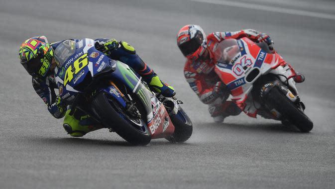 Valentino Rossi (MOHD RASFAN / AFP)