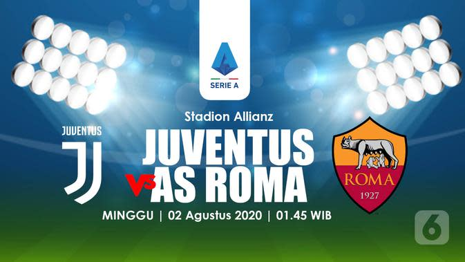 JUVENTUS VS AS ROMA (Liputan6.com/Abdillah)