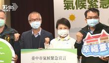 台中簽署氣候宣言 盧秀燕:3年達無煤城市