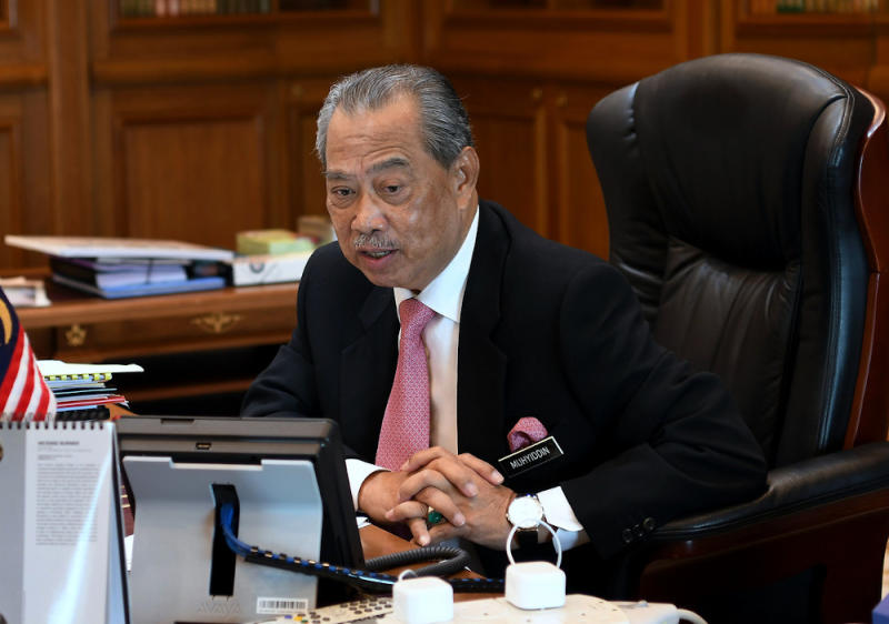 Huazong president Tan Sri Goh Tian Chuan said he supported and agreed with Prime Minister Tan Sri Muhyiddin Yassin's (pic) statement that the UEC has to be in line with the National Education Policy if the government was to consider its resolution in the future. — Bernama pic
