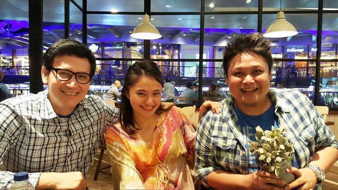 Marshanda, Cecep Reza dan Marcellino Lefrandt [foto: instagram/marshanda99]