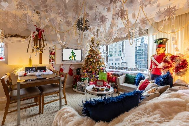 You can stay in an 'Elf'-inspired hotel suite in New York City