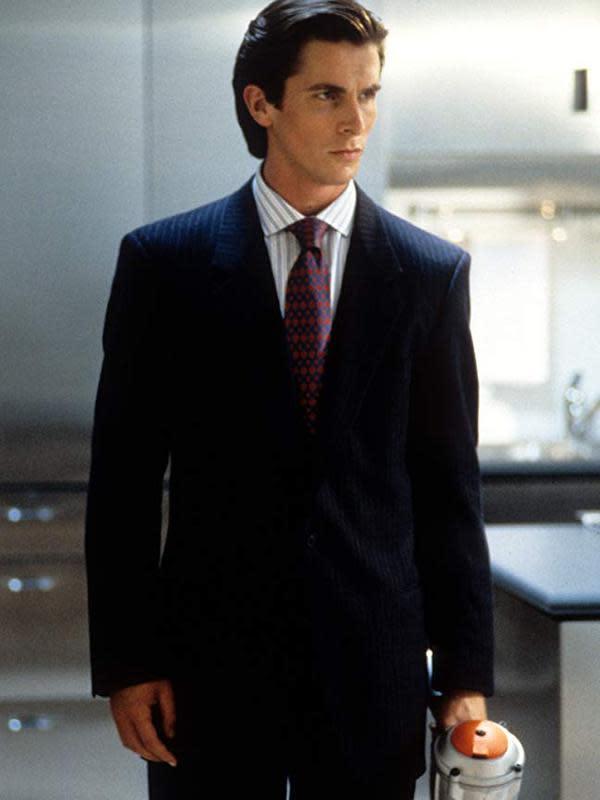 Christian Bale sebagai Patrick Bateman dalam American Psycho. (Foto: Dok. IMDb/ Lionsgate)