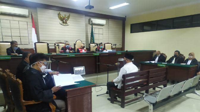 Sidang pembacaan tuntutan terdakwa Bupati Sidoarjo Nonaktif Saiful Illa di Pengadilan Tipikor Surabaya, Jawa Timur. (Foto: Dok Istimewa)
