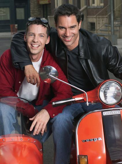 "Will (Eric McCormack) and Jack (Sean Hayes), ""Will & Grace"" (1998)"